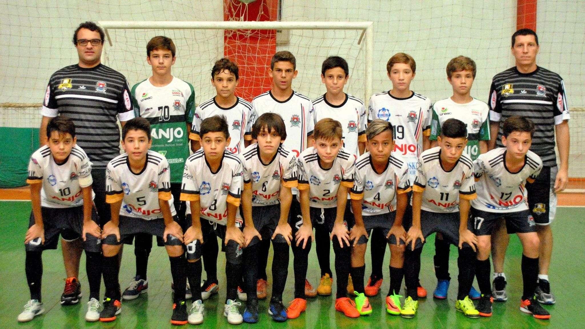0d76690c8f Time sub-13 de Futsal de Forquilhinha tem mais um desafio no Campeonato  Estadual