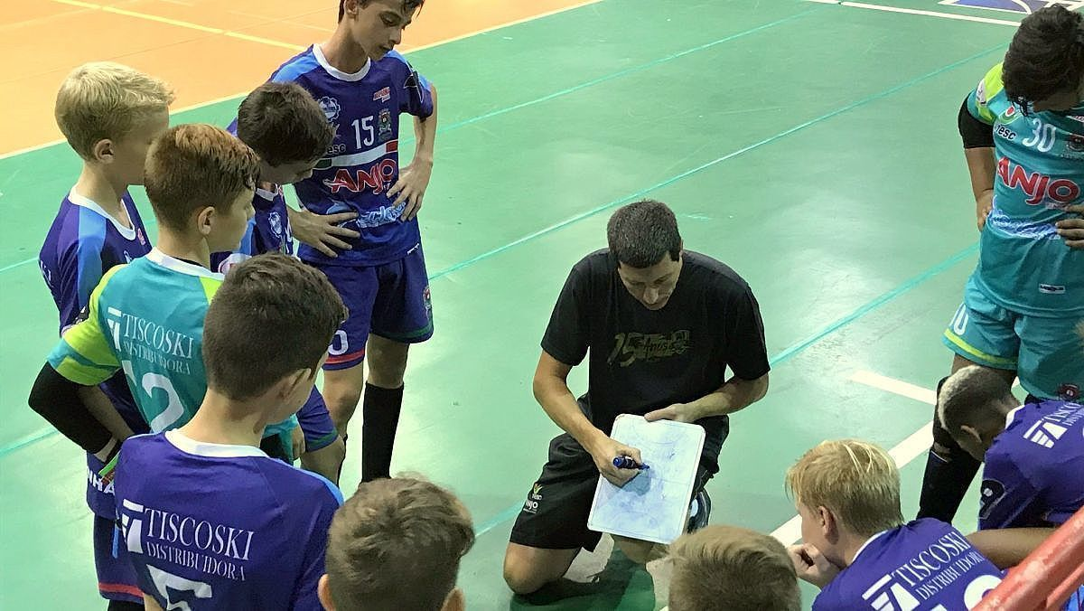 3456e92376 Forquilhinha em dose dupla no Campeonato Estadual de Futsal ...